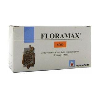 Floramax 6000 de Fharmocat es un complemento regenerador de la flora intestinal que contribuye al funcionamiento normal del sistema inmunitario. Ayuda a reforzar la flora intestinal y fortalece las defensas naturales del organismo.